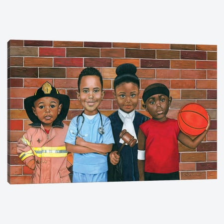 The Future Canvas Print #MNJ24} by Manasseh Johnson Canvas Artwork
