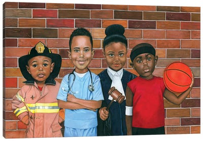 The Future Canvas Art Print