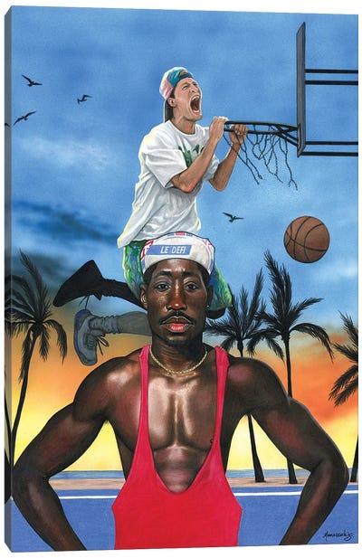 White Men Can't Jump Canvas Art Print