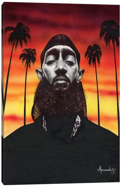 Nipsey Hussle Canvas Art Print