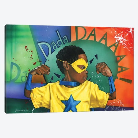 Da Dada Daaa Canvas Print #MNJ28} by Manasseh Johnson Canvas Print