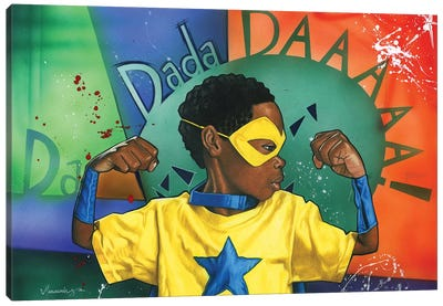 Da Dada Daaa Canvas Art Print