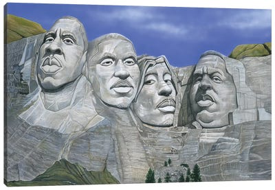 Hip-Hop Mt. Rushmore Canvas Art Print