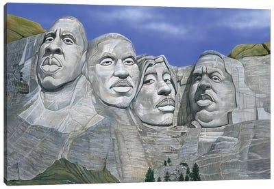 Hip-Hop Mt. Rushmore Canvas Art Print