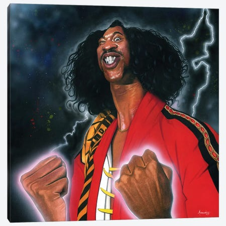 Shonuff Canvas Print #MNJ30} by Manasseh Johnson Canvas Art