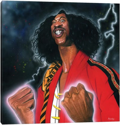 Shonuff Canvas Art Print