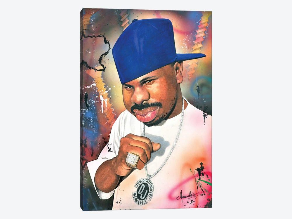 DJ Screw by Manasseh Johnson 1-piece Canvas Print