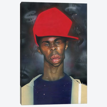 Ace Canvas Print #MNJ37} by Manasseh Johnson Canvas Print