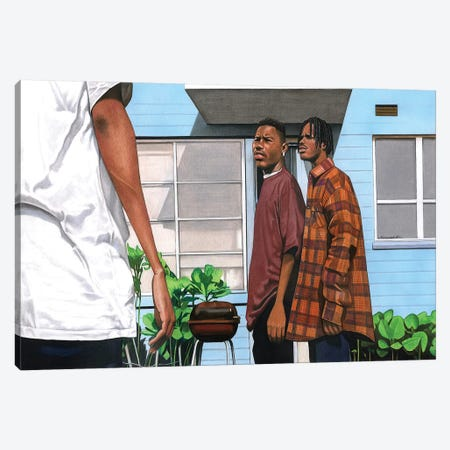 Menace 2 Society Canvas Print #MNJ39} by Manasseh Johnson Canvas Art