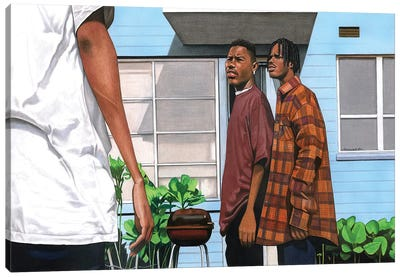 Menace 2 Society Canvas Art Print