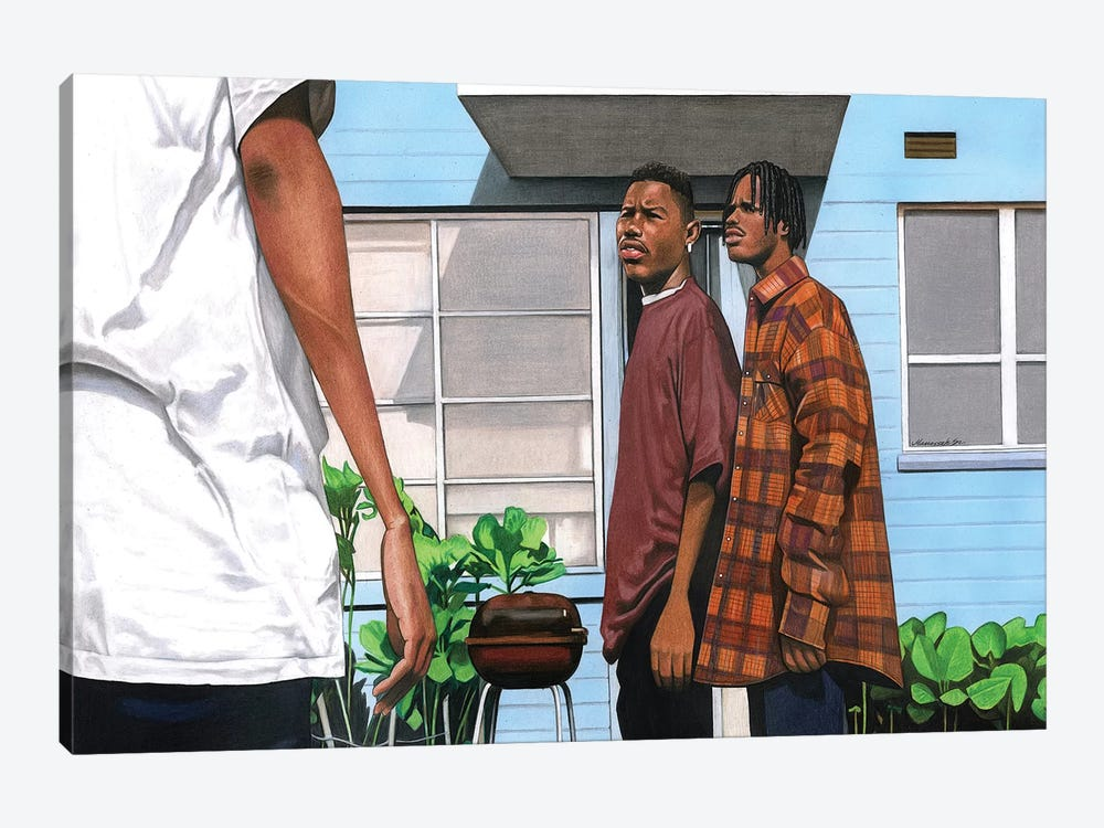 Menace 2 Society by Manasseh Johnson 1-piece Canvas Art
