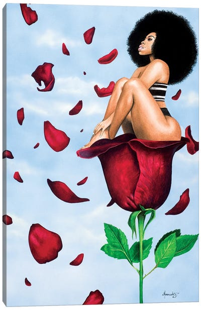 Afroses Canvas Art Print