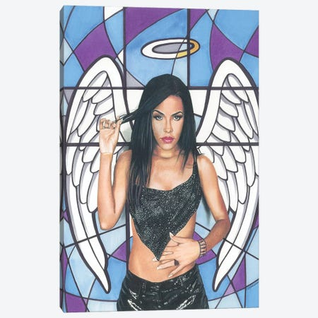 Aaliyah Canvas Print #MNJ40} by Manasseh Johnson Canvas Print