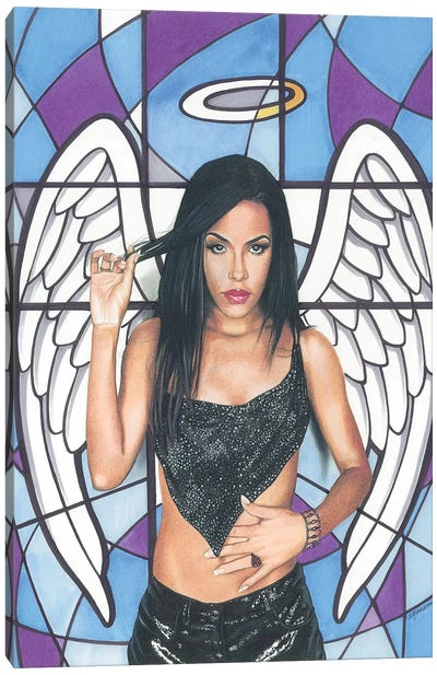 Aaliyah Canvas Art Print