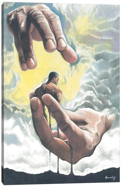 Creation Of Man Canvas Art Print
