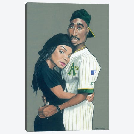 Poetic Justice Canvas Print #MNJ48} by Manasseh Johnson Canvas Print