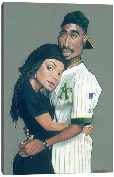 Poetic Justice Canvas Art Print