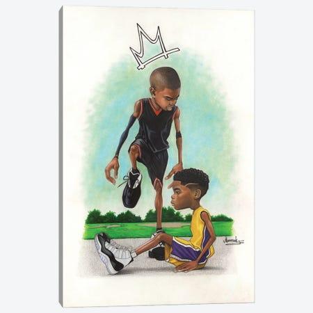 Iverson Kid Canvas Print #MNJ53} by Manasseh Johnson Canvas Artwork