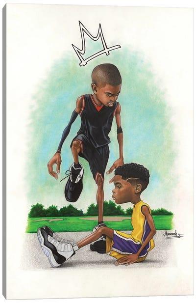 Iverson Kid Canvas Art Print