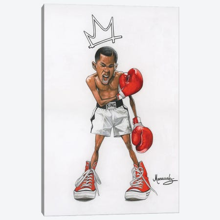 Ali Kid Canvas Print #MNJ56} by Manasseh Johnson Art Print