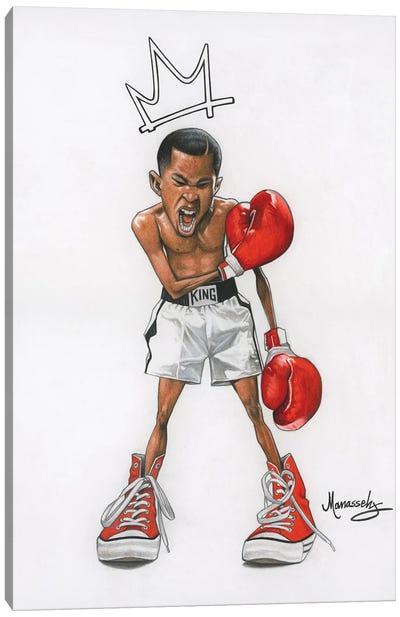Ali Kid Canvas Art Print
