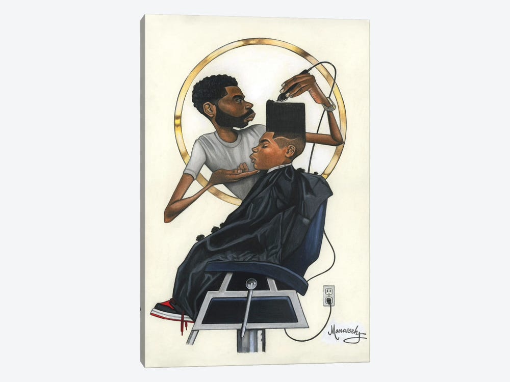 A Little Off The Top by Manasseh Johnson 1-piece Canvas Art