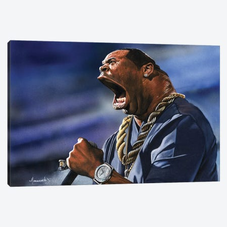 Busta Canvas Print #MNJ7} by Manasseh Johnson Canvas Art Print
