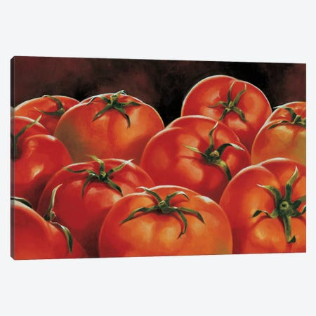 Pomodori Canvas Print #MNL3} by Stefania Mottinelli Canvas Artwork
