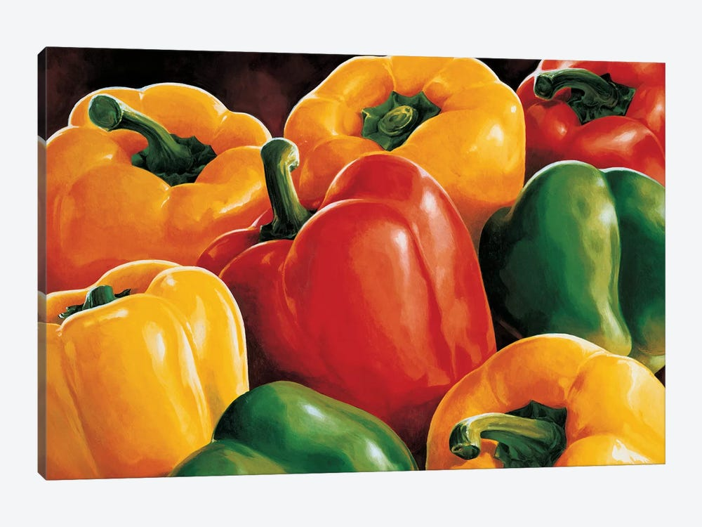 Peperoni by Stefania Mottinelli 1-piece Art Print