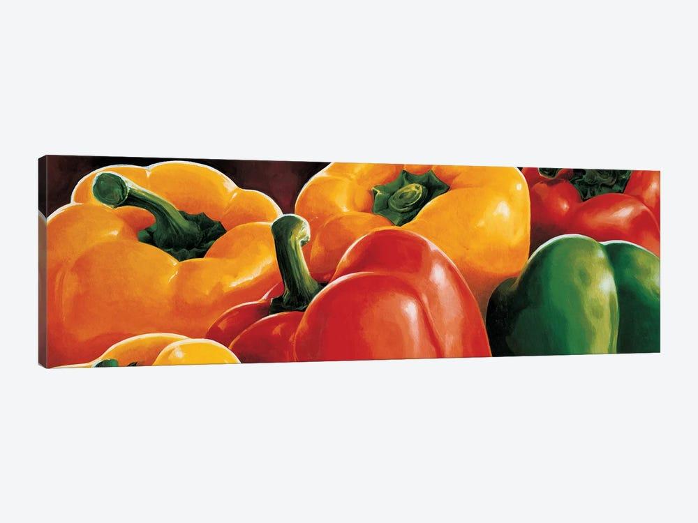 Peperoni by Stefania Mottinelli 1-piece Canvas Print