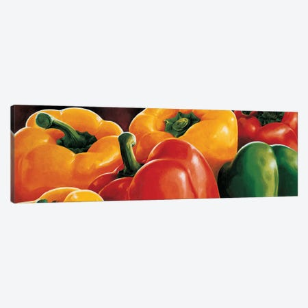 Peperoni Canvas Print #MNL6} by Stefania Mottinelli Art Print