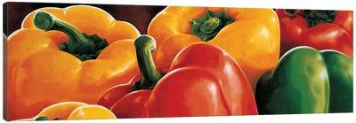 Peperoni Canvas Art Print