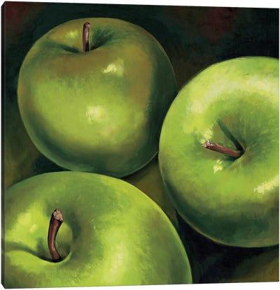 Mele verdi Canvas Art Print