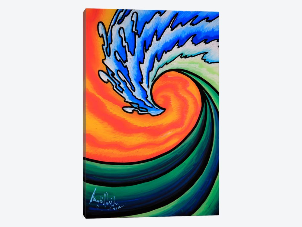 Great Wave by Martin Nasim 1-piece Canvas Wall Art