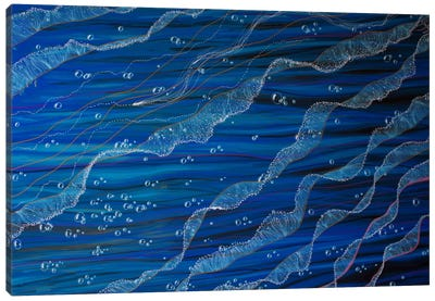 Jelly Tentacles Canvas Art Print