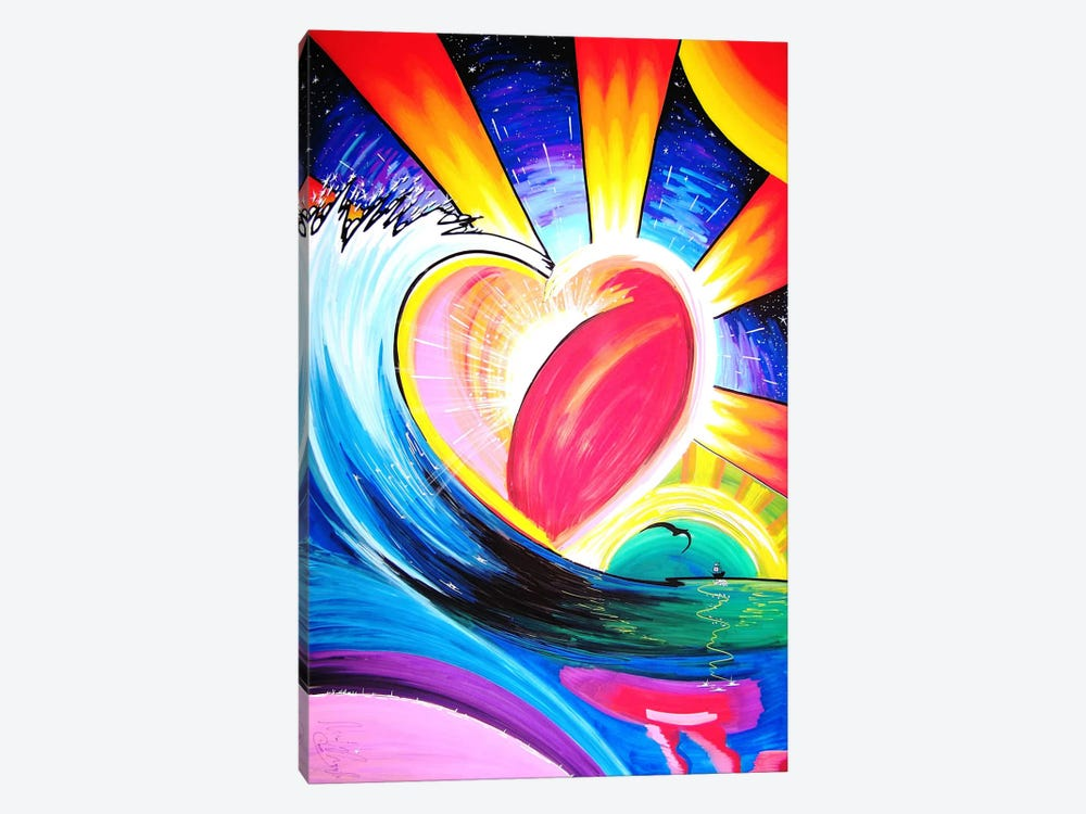 Love by Martin Nasim 1-piece Canvas Art