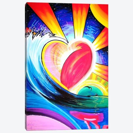 Love 3-Piece Canvas #MNM21} by Martin Nasim Canvas Wall Art