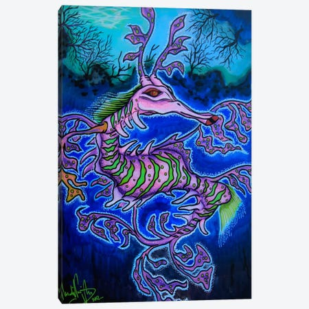 Mr. Dragon Canvas Print #MNM23} by Martin Nasim Canvas Artwork