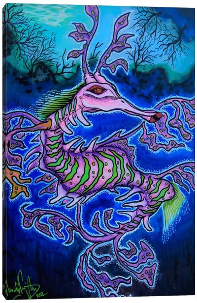Mr. Dragon Canvas Art Print