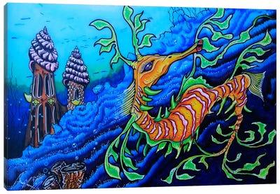 Ms. Dragonese Canvas Art Print