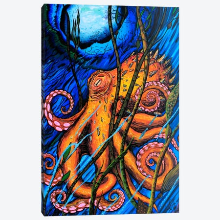OCTO #2 Canvas Print #MNM26} by Martin Nasim Canvas Print