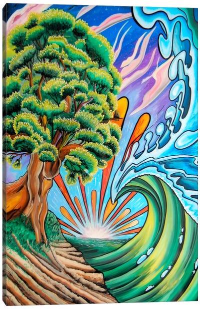 Olimpos Canvas Art Print