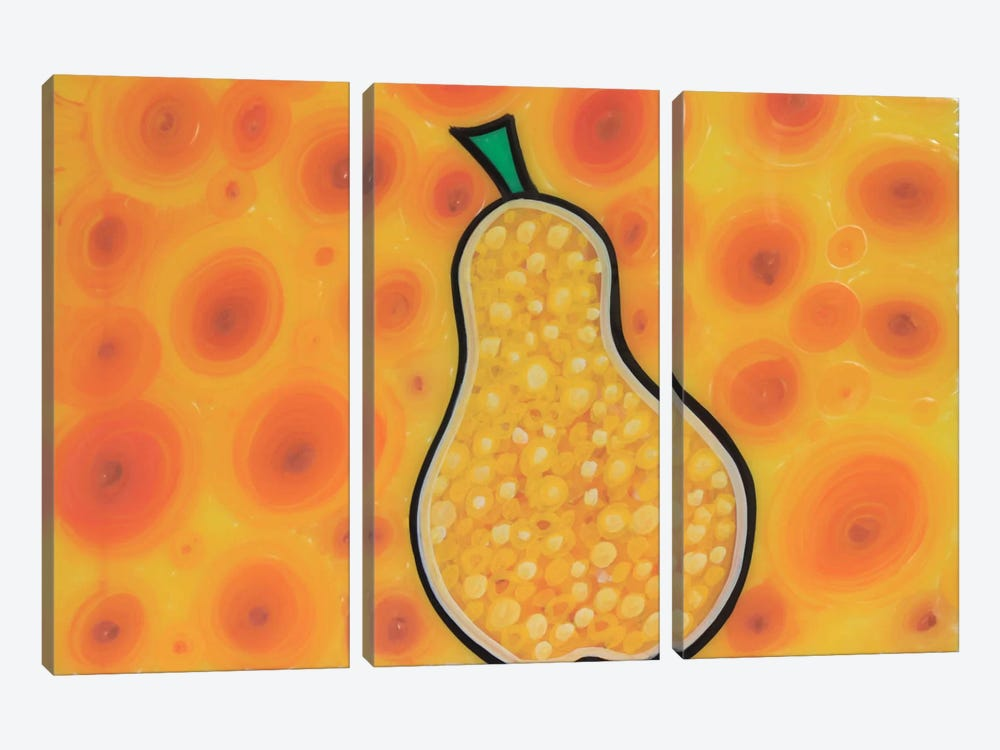 Pear by Martin Nasim 3-piece Art Print