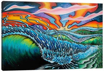 Playa Canvas Art Print