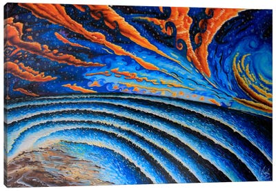 Sunset Chill Canvas Print #MNM32