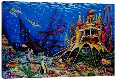Underwater World Canvas Print #MNM35
