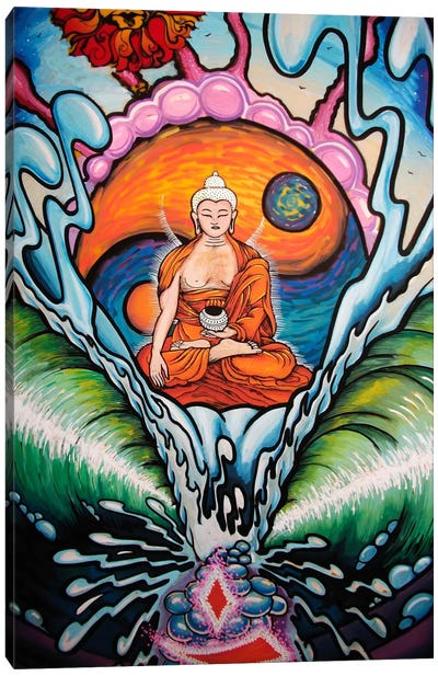 Buddha Dream Canvas Art Print