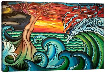 Creation of Music Canvas Art Print