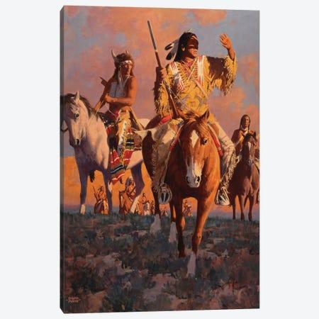 Camanche Sundown Canvas Print #MNN10} by David Mann Canvas Art
