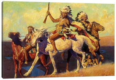 Kiowa Ridge Canvas Art Print